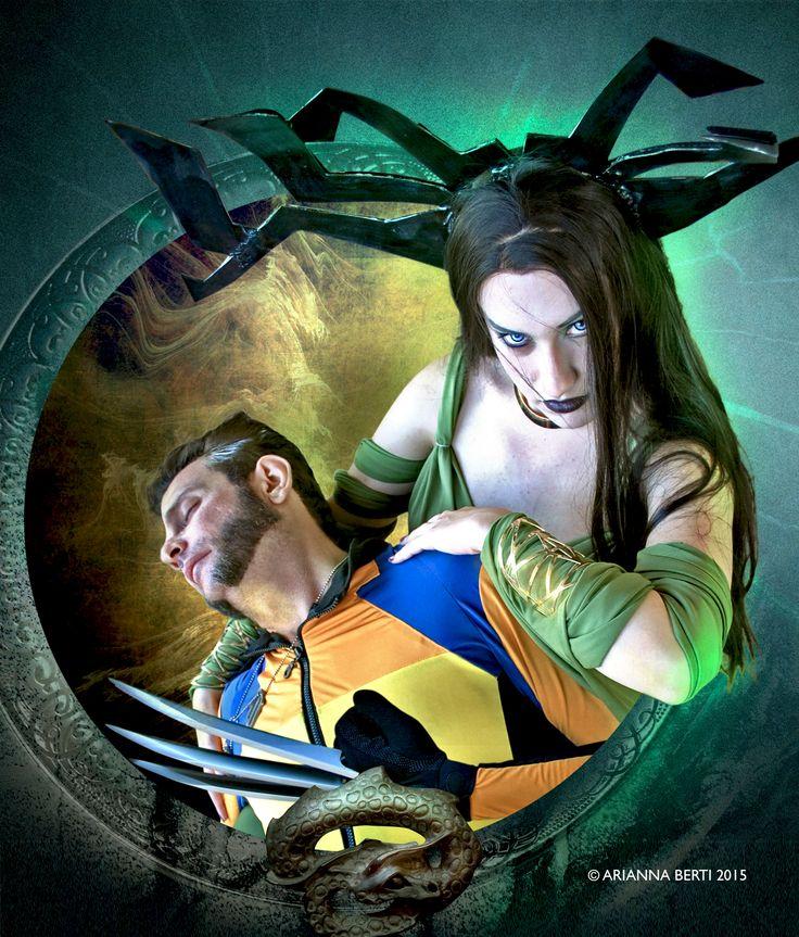 Death of Wolverine Cosplayers: Loren (Hela) - Enrico (Wolverine) Photo & editing: © Arianna Berti 2015