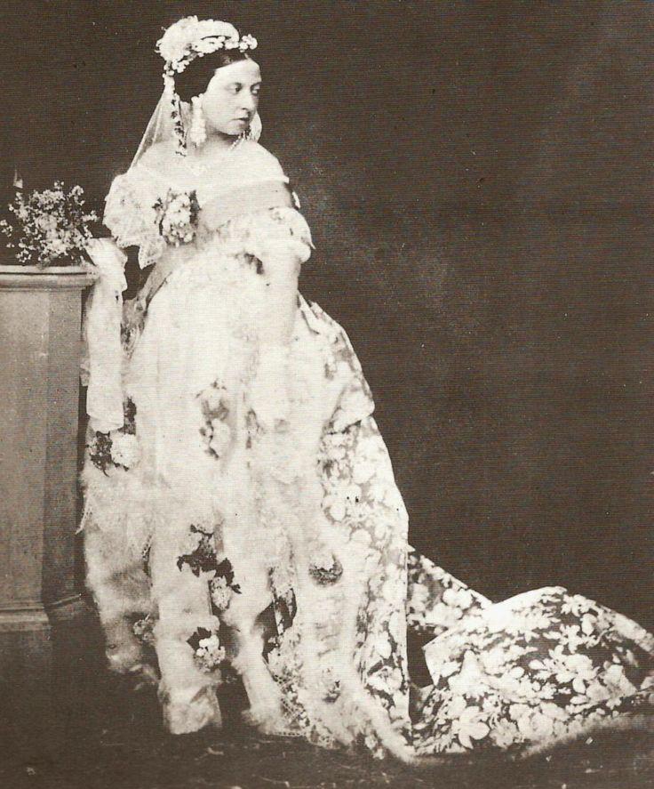 Noiva com Classe: Casamentos Famosos I  A Rainha Vitória com seu vestido de noiva: