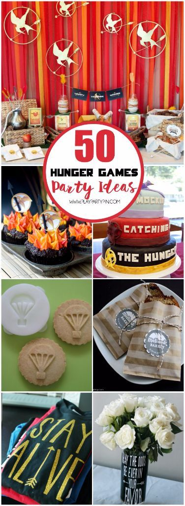 Ideas Quotes: Ultimate Collection of Hunger Games Party ideas
