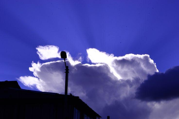 Zeus estás ahí.  Chapinero Alto. Bogotá. Colombia 2013