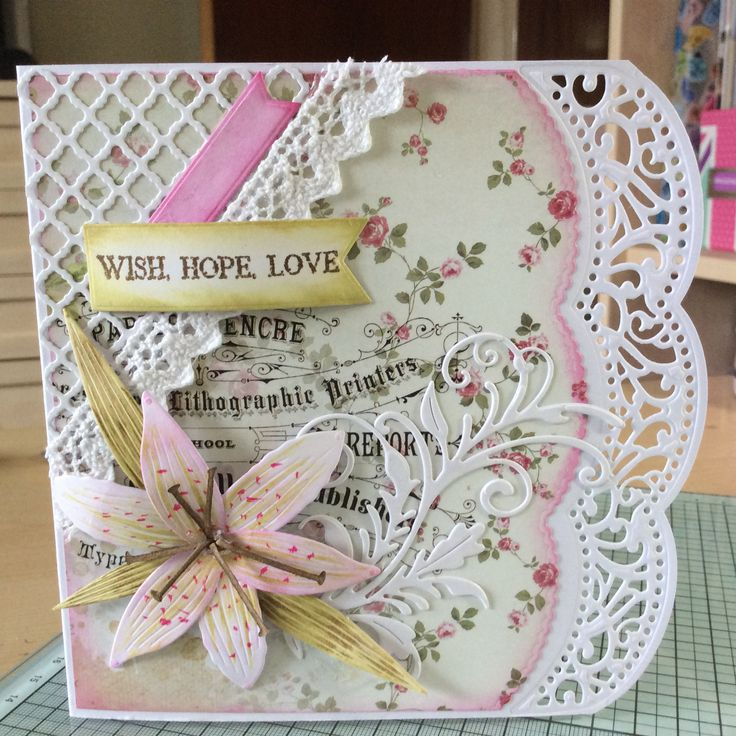 Crafters Companion Shabby Chic