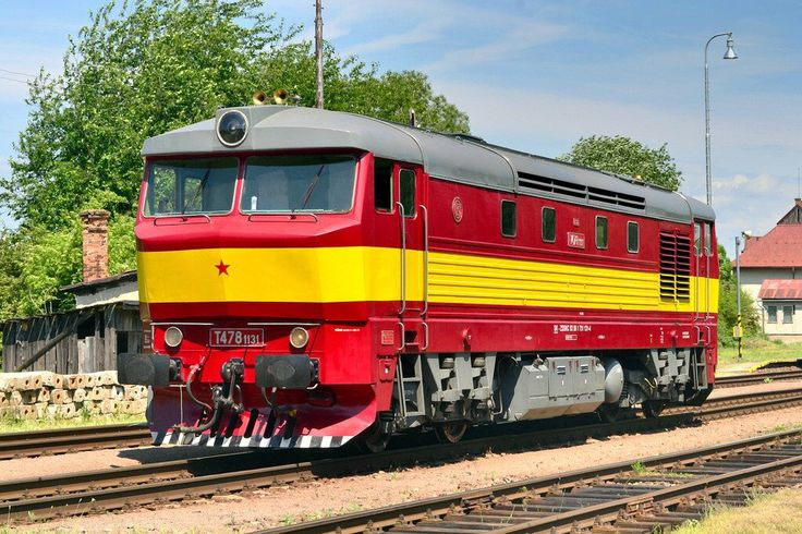 ZSSK Cargo 751 131 Diesel-electric locomotive from ČKD 751 series
