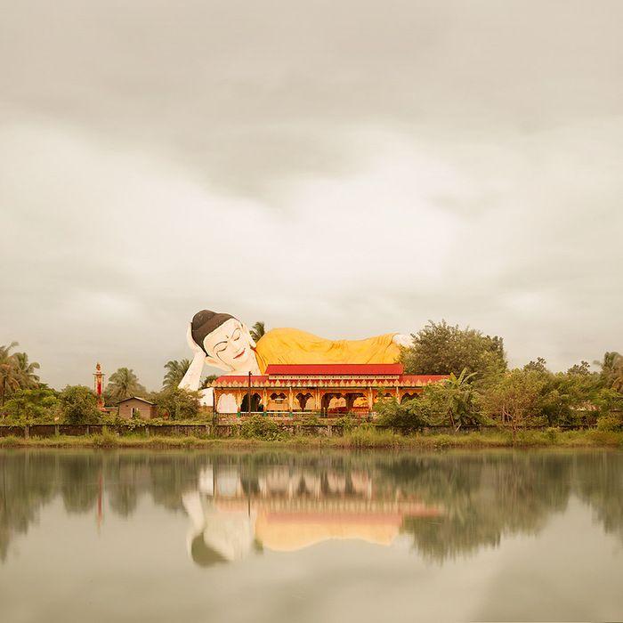 Reclining Buddha, Bago, Burma, 2011