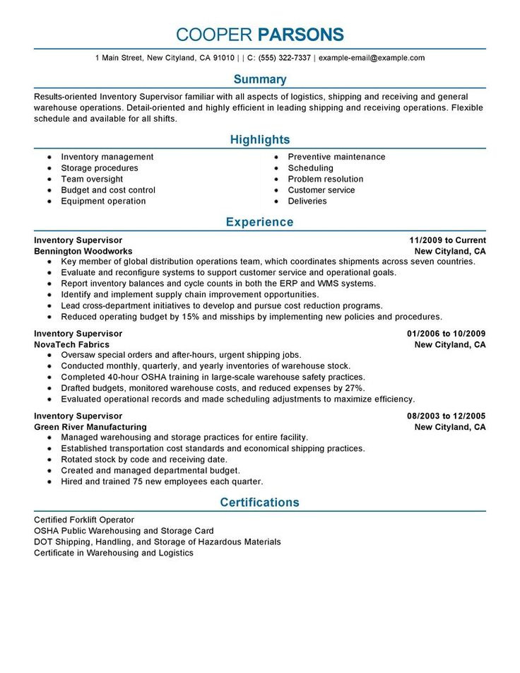7 best RESUME images on Pinterest Student resume, High school - production sample resume
