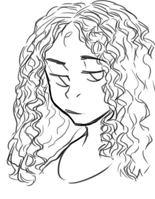 25 trending anime curly hair ideas on pinterest how to draw how to draw curly hair google search ccuart Choice Image