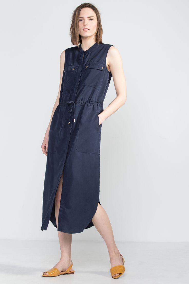 Cortefiel - Vestido camisero