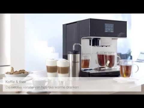 Miele koffieautomaat voor koffie- & thee liefhebbers! - Nieuws Startpagina voor keuken ideeën | UW-keuken.nl #koffie