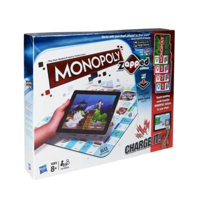 Monopoly Zapped Edition - Bring Monopoly to life with loads of awesome mini games on your iPad, iPhone, or iPod touch.