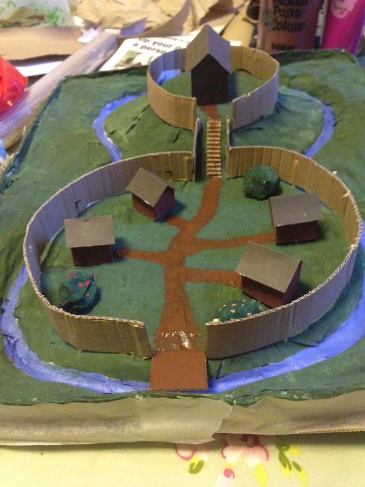 Finished project  Motte and Bailey done!