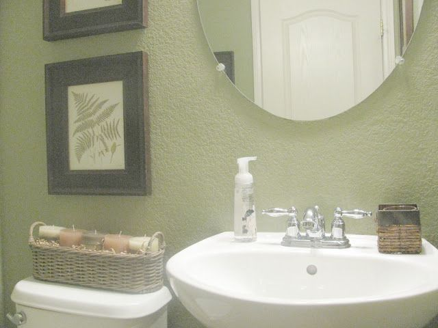 Sage green bathroom photos sage green and white bathroom - Sage green color wheel ...