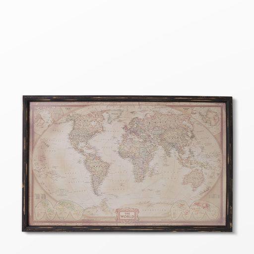 Tavla med världskarta - Höstlov PL- Köp online på åhlens.se!