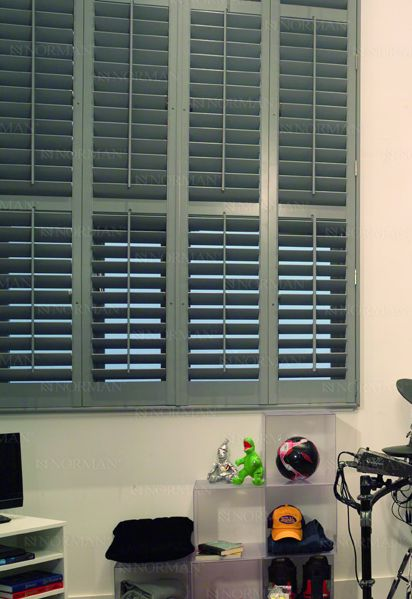 Normandy Norman® Wood Shutters