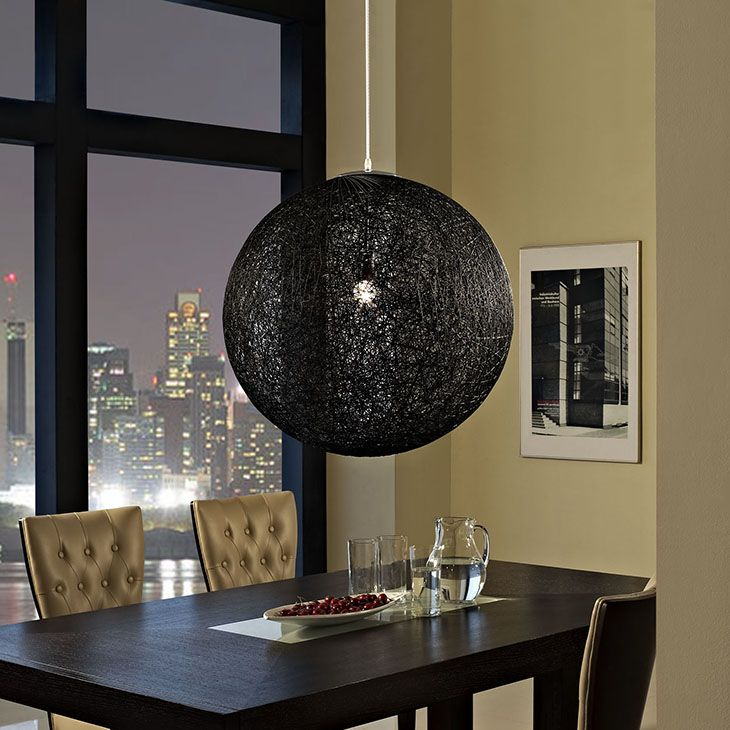 SPOOL CHANDELIER IN BLACK Spin together the right moments with the Spool  modern pendant light. 130 best Mod Lights  images on Pinterest   Chandeliers  Modern