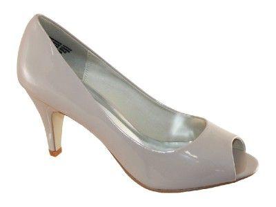 Inniu Gabbie Syn Low Heel -$50 - Nude Patent