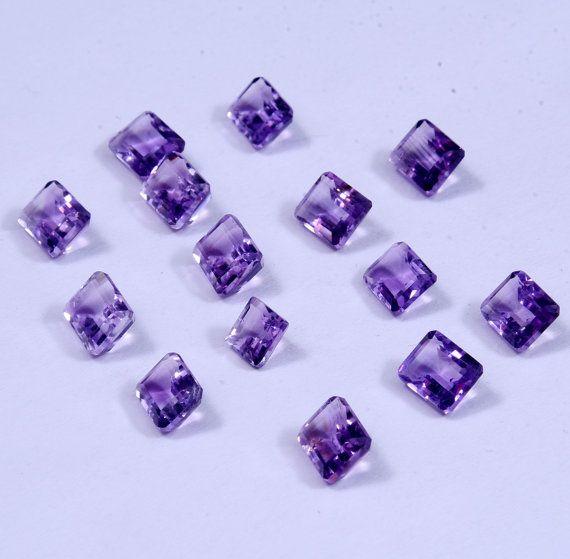 131 PCs Lot of Amethyst Cut Gem StoneBeautiful by AdornmixJewels