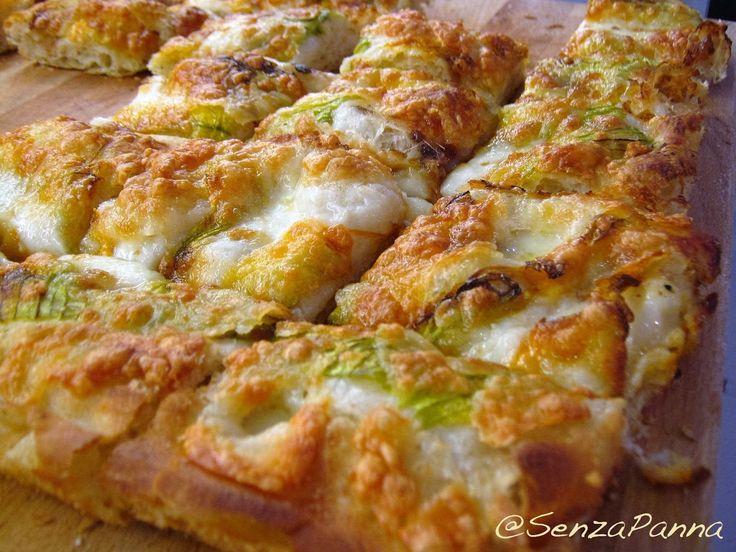 SenzaPanna: La pizza in teglia di Gabriele Valdès. La ricetta del lunedì.