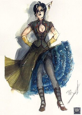 Moulin Rouge Costume Art by Catherin Martin Angus Strathie - Google Search