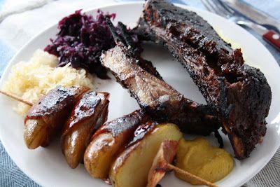 Metsästysblogi, riistareseptit - Terveiset ravintoketjun huipulta: Villisian grillikylki (grill ribs)
