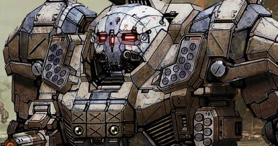 Check Out The Atlas In MechWarrior Online