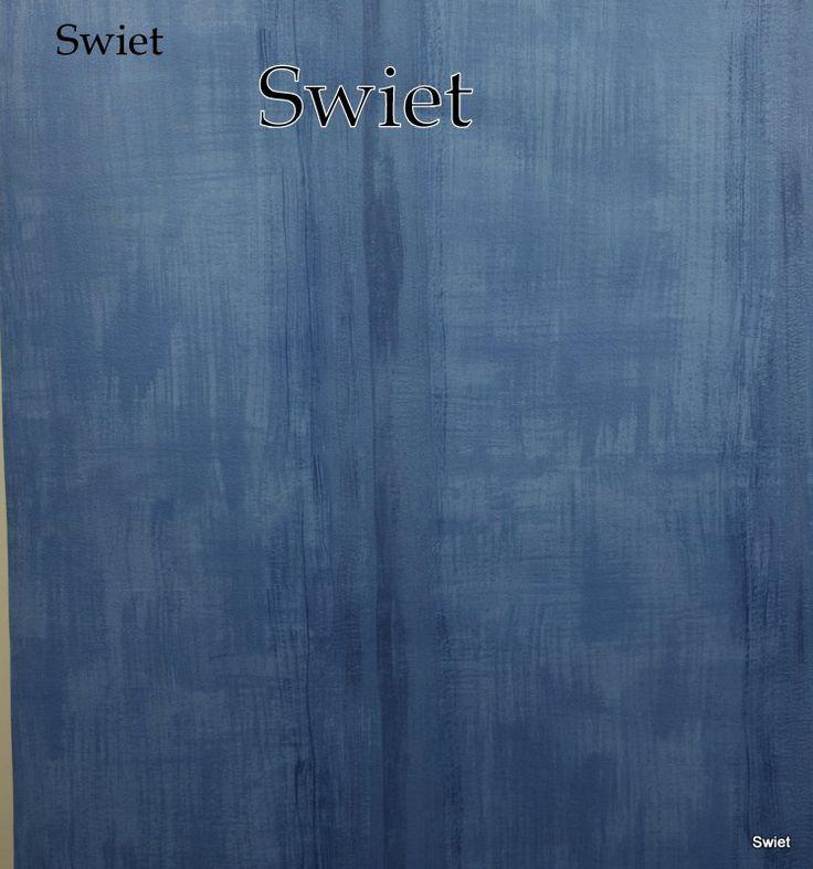 Jeans blauw behang | Swiet