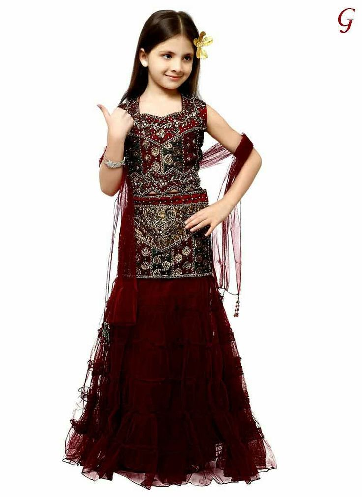 Babies-Latest Girls New ghagra-Fashion Images