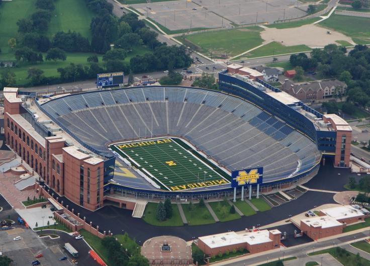 Michigan the big house seating capacity 109901