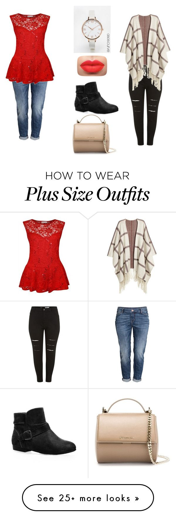 """Which One?????"" by carathebest on Polyvore featuring H&M, ASOS Curve, Avenue and Givenchy"