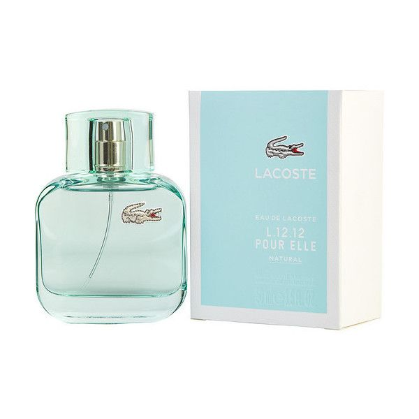 Lacoste Eau De Lacoste L.12.12 Pour Elle Natural By Lacoste Edt Spray (2,110 INR) ❤ liked on Polyvore featuring beauty products, fragrance, lacoste perfume, lacoste and lacoste fragrance