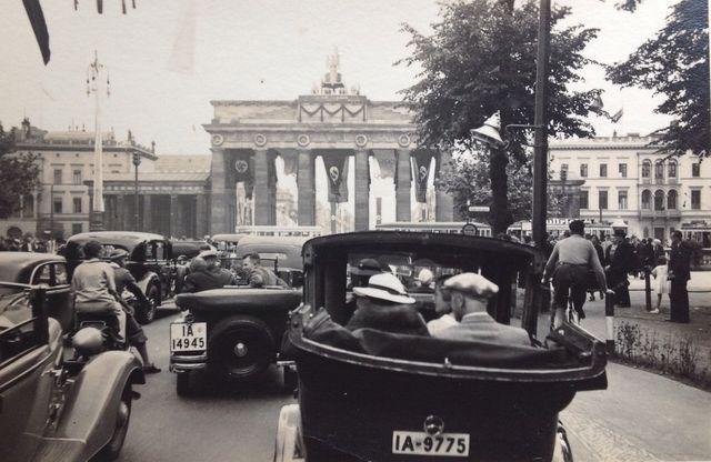 Berlin Brandenburger Tor 1936