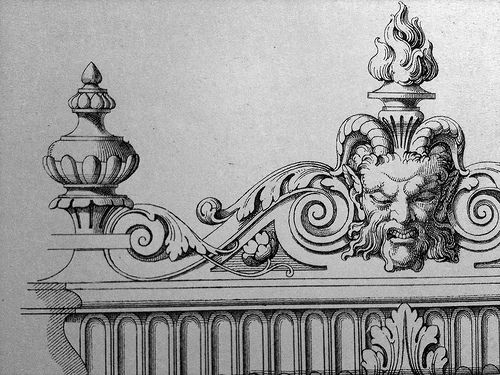 17 best images about ornament drawing on pinterest for Acanthus decoration