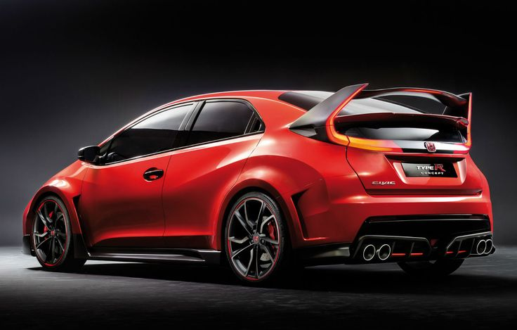 2015 Honda Civic Type-R Sport Concept Car Wallpaper