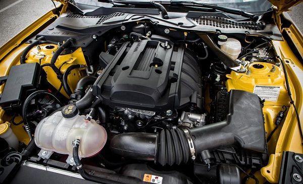 2015 ford mustang horsepower