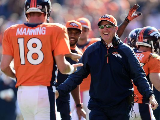 Broncos Head Coach John Fox stands up for Peyton Manning - Article