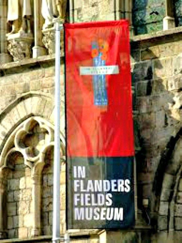 The In Flanders Fields Museum in the reconstructed Cloth Hall in Ypres, Belgium, is a must visit for any museum fan or World War 1 historian. (via thetravellingmom.ca)