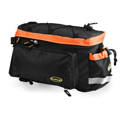 CoolChange Bicycle Rear Rack Bag with Reflective Stripe #hats, #watches, #belts, #fashion, #style