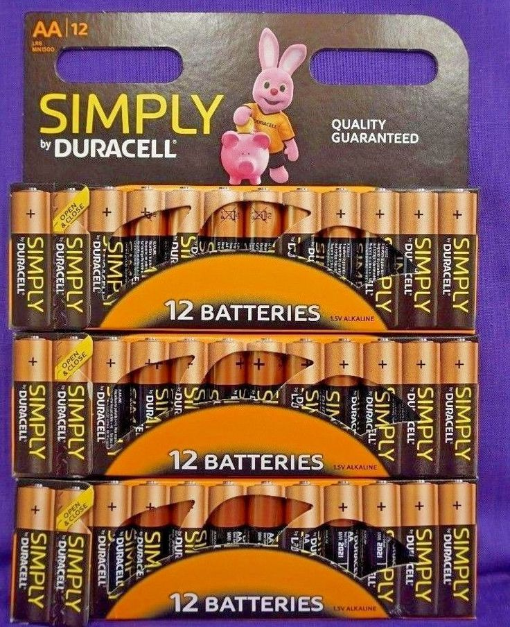 36 x Duracell AA Batteries.. Alkaline Battery.. Brand New Bateries