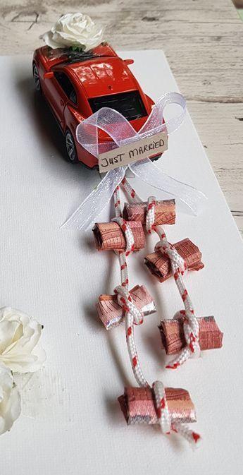 Idee Geldgeschenk zur Hochzeit #Geldgeschenke #Hochzeitsgeschenke #Geschenkidee #Geschenke – Katrin Bott