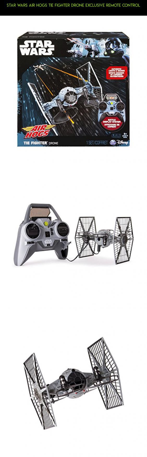 Star Wars Air Hogs Tie Fighter Drone Exclusive Remote Control #fpv #air #kit #star #drone #technology #plans #camera #tech #racing #gadgets #parts #hogs #wars #products #shopping