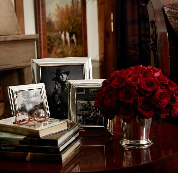 Bedside table beauty with Ralph Lauren Homeu0027s