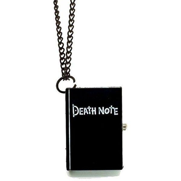 Vantasy New Vintage Unique Bronze Quartz Pocket Watch Open Death Note... ❤ liked on Polyvore featuring jewelry, quartz jewelry, vintage jewellery, vintage pendant necklace, pocket watches and pendant necklace