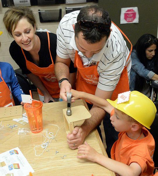 Max's Home Depot Birthday Party | Leslie Nash Designs | www.leslienashdesigns.com