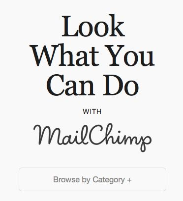 MailChimp - Newsletter template inspiration