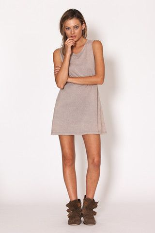 Amilita - Zephyr Tank Dress   casual   model style   summer   essential   grunge   Paved Paradise