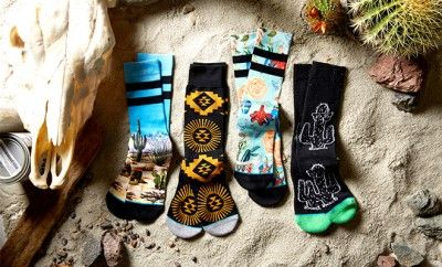 Chaussettes Stance collection désert #stance #socks #peah