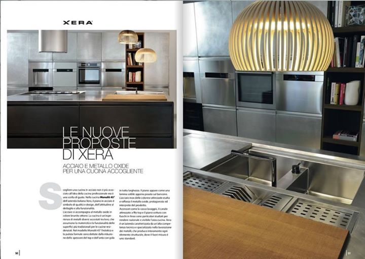 """New collaborations for xera! Because Art is our talent, design our ability. Here's a preview pages 50 to 53 dedicated to xera in """"Live Verona""""!   Social – Xera"""