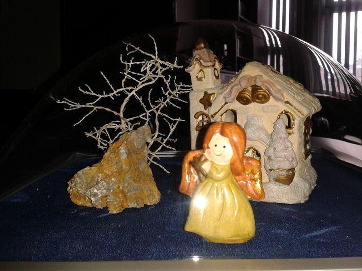Pomysł na dekorację zimowo-świąteczną z wykorzystaniem ramki 3d