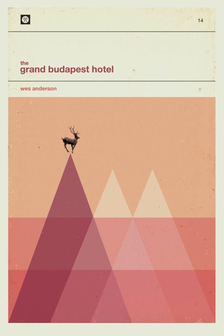 The grand budapest hotel design by Patrick Concepcion
