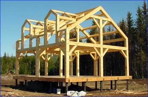 1000 ideas about small cabin plans on pinterest small for Small timber frame house plans