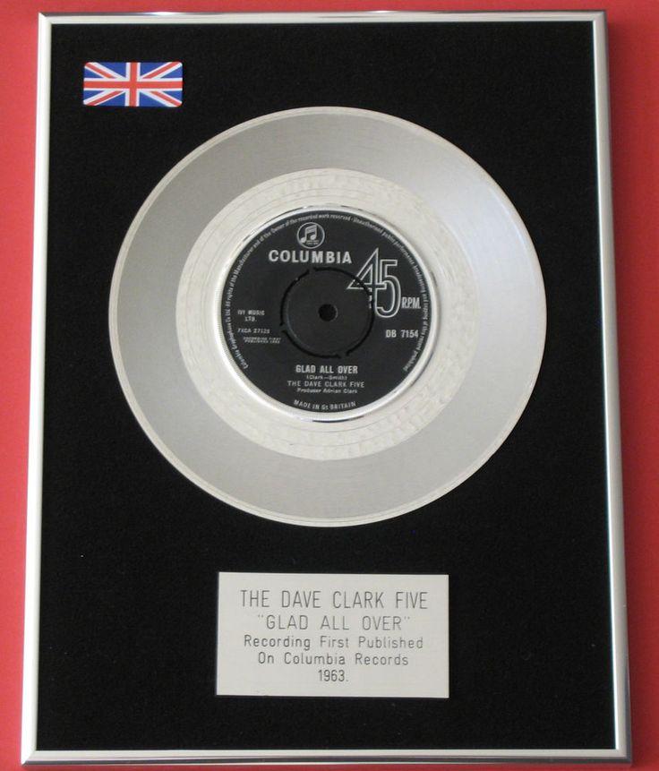 THE DAVE CLARK FIVE Glad All Over PLATINUM Single DISC Presentation