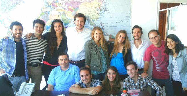 Les presentamos a parte equipo de la oficina  de Dentalink  -Chile